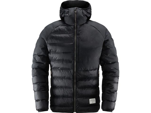 Haglöfs Dala Mimic Chaqueta con capucha Hombre, true black
